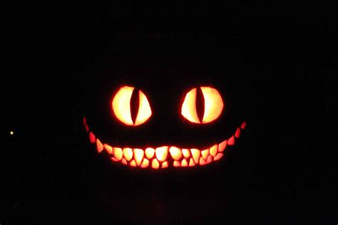 jack o lantern templates cat the cheshire cat by 70mustang on deviantart