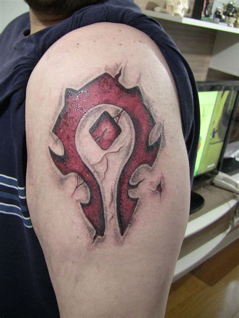 horde tattoo by adonisc on deviantart