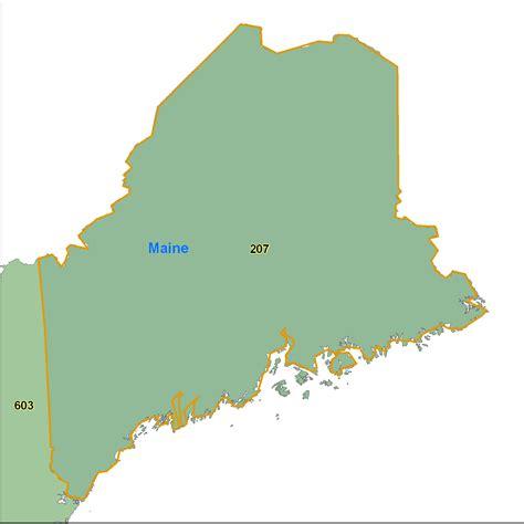 zip code map maine maine area code maps maine telephone area code maps free