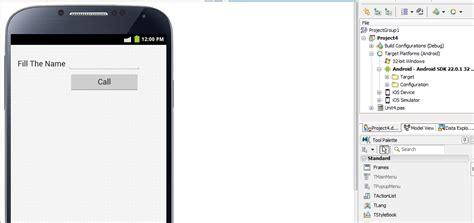 membuat aplikasi android delphi xe membuat aplikasi android dengan delphi xe 5 bagian 1