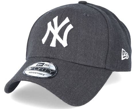gray nyc new york yankees 9forty grey ajustable new era reglerbar hatstore se
