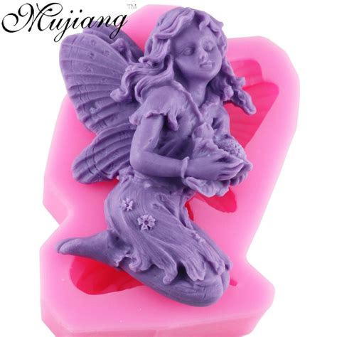 Set Fairytale The Silicone Mold Icing Clay Fondant 3d silicone soap mold resin clay candle molds chocolate fondant cake moulds kitchen