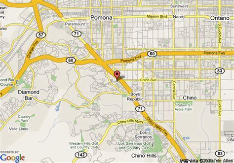 california map chino hton inn suites chino ca chino deals