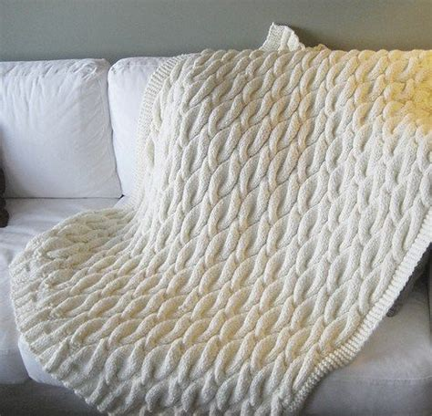 cable knit throw pattern free cable afghan knitting patterns knitting patterns and