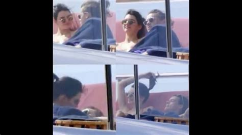 harry styles tattoo kendall harry styles and kendall jenner on a yacht in st barts