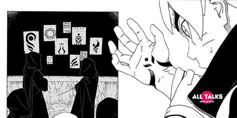boruto curse mark boruto and kawaki s curse marks connected to newest