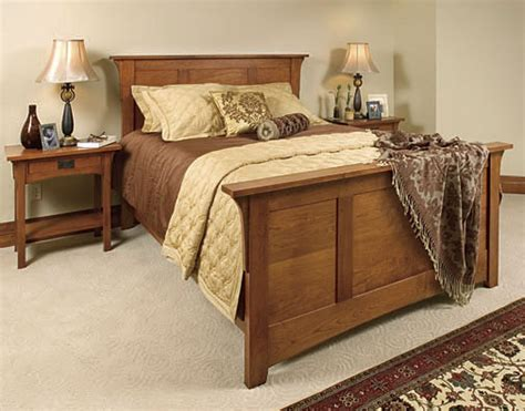 mission style bedroom furniture by schrocks of walnut creek