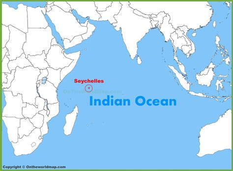 where is seychelles on world map seychelles location on the indian map