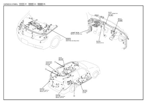 repair diagrams for 2001 mazda 626 engine transmission