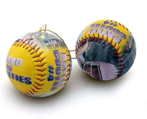softball ornaments 28 images make a personalized ornament softball fastpitch softball