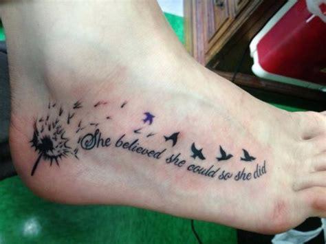 foot tattoo care best 20 dandelion foot ideas on