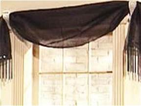 Window Scarves For Large Windows Inspiration No Sew Window Treatments Diy