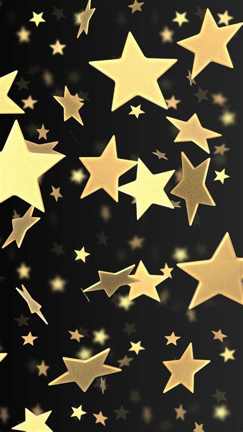 wallpaper with gold stars 76 best images about stars on pinterest sparkle iphone