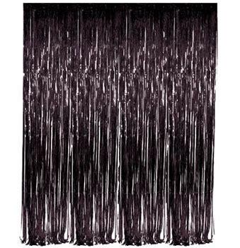 black fringe curtain black fringe curtain the house of bachelorette