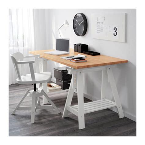 gerton table top beech 155x75 cm ikea
