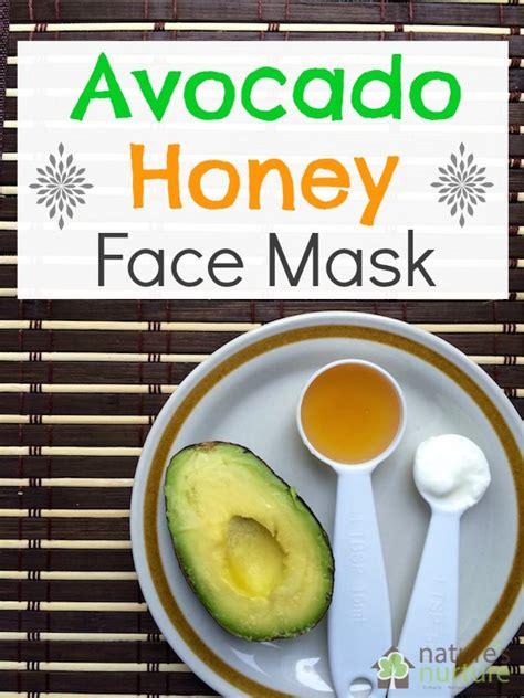 diy mask without honey avocado honey mask nature s nurture