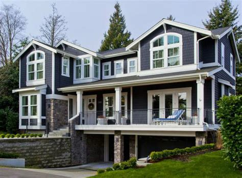 front sloping lot house plans for the front sloping lot 23060jd architectural designs house plans