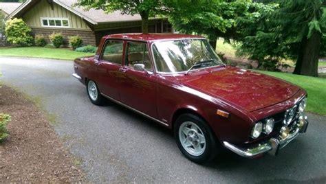 alfa romeo 4 door sedan 1972 alfa romeo berlina sedan 4 door 2 0l for sale photos
