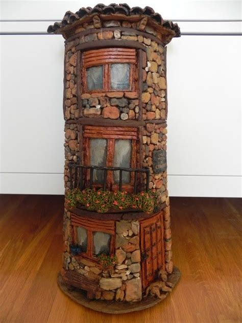 Aire De Jeux Jardin 953 by Rock Tower Faerie House Cover A Pringles Cannister Would