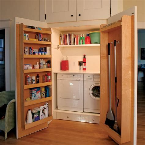 Above Closet Storage by 25 Laundry Room Organization Storage Ideas Noted List