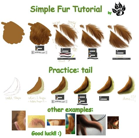 tutorial photoshop gold photoshop tutorial simple fur tutorial by gold fang on