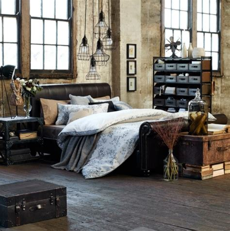 industrial chic bedroom ideas 33 industrial bedroom designs that inspire digsdigs