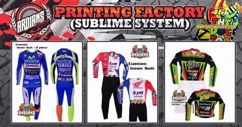desain kemeja tim balap desain suka suka di ardians printing sublime road race