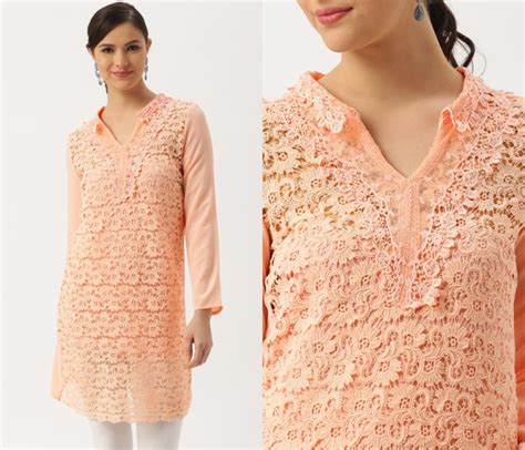 net kurti pattern images 11 simple neck designs for kurtis with laces keep me stylish