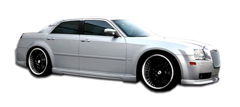Chrysler 300 Side Skirt by Polyurethane Sideskirts Kit For 2010 Chrysler 300