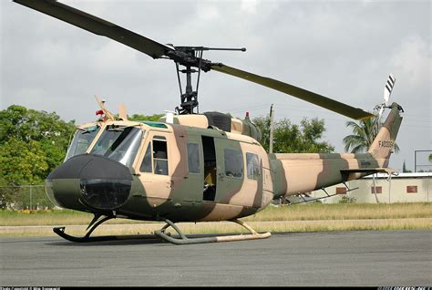 bell uh 1h huey ii 205 dominican republic air force
