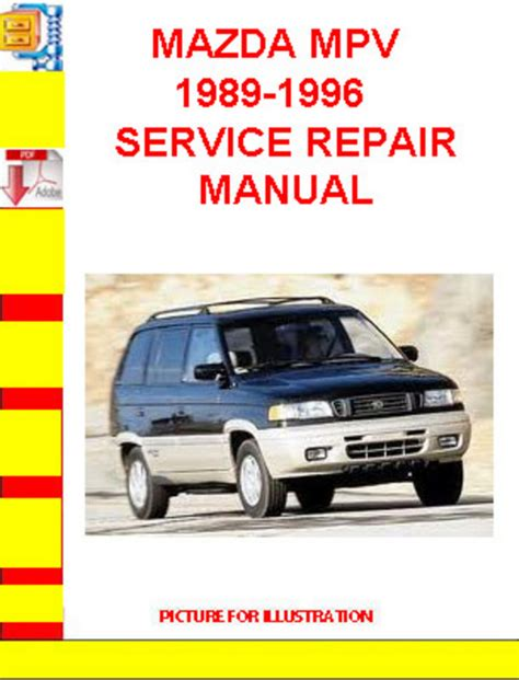 service manual 1989 mazda mpv manual free download mazda mpv haynes manual 1989 1994 van