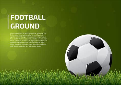 Football Template Vector football ground template vector free vector