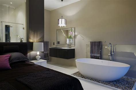 Open Bathroom Bedroom Design Bathroom Design Fabulous Modern Open Bathroom Bedroom Design With White Bath Tub Aromatherapy