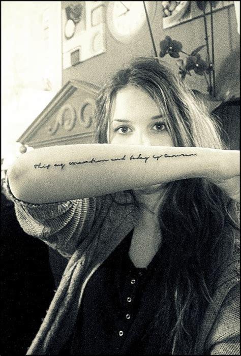 tattoo rodeo lyrics bon iver lyrics tattoo love the font tats pinterest