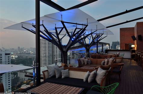 Roof Awning Above Eleven Rooftop Bar Amp Restaurant Bangkok Asia