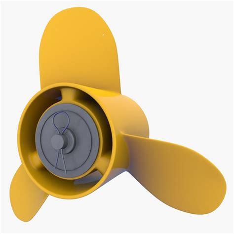boat propeller materials boat propeller 3d c4d