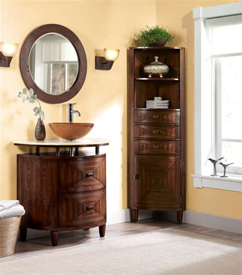 corner bathroom vanity cabinet corner bathroom mirror bathroom cabinet exceptional tall