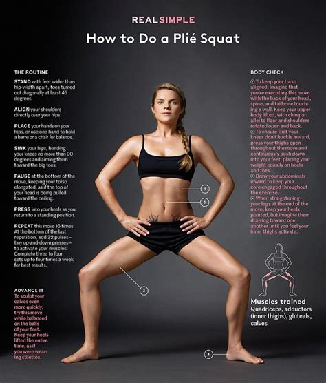proper celebrity definition how to do a pli 233 squat on the road workouts pinterest