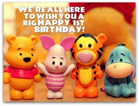 Happy Birthday Wishes For One Year 1st Birthday Wishes Birthday Messages For 1 Year Olds