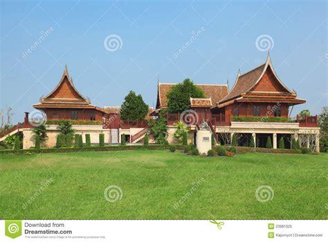 thai house style royalty free stock photo image 23981025
