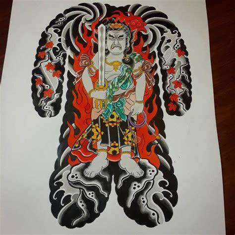 japanese bodysuit tattoo designs gabrieltattoo1 fudomyoo fullback