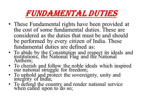 As A Citizen Of India My Duties Are Essay Writing For by Ll B Year Ist Sem Ppt