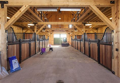 Pole Barn Home Interior traditional wood barn great plains gambrel barn project