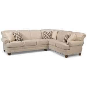 flexsteel bay bridge 5 seat sectional with left arm facing
