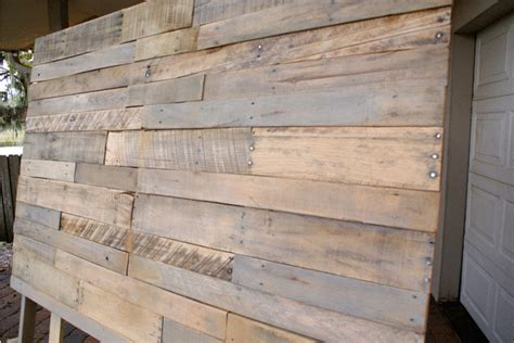 how to build a wood pallet headboard the thinking closet