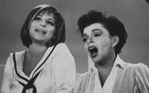 barbra streisand on judy garland flashback friday barbra streisand s iconic duet with judy