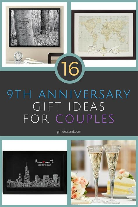 9th anniversary gift ideas for him 16 9th wedding anniversary gift ideas for couples