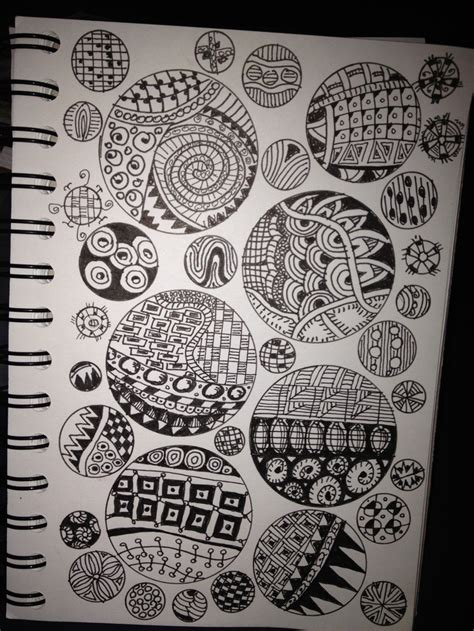 notebook doodle pattern 34 best images about zentangle notebooks on pinterest