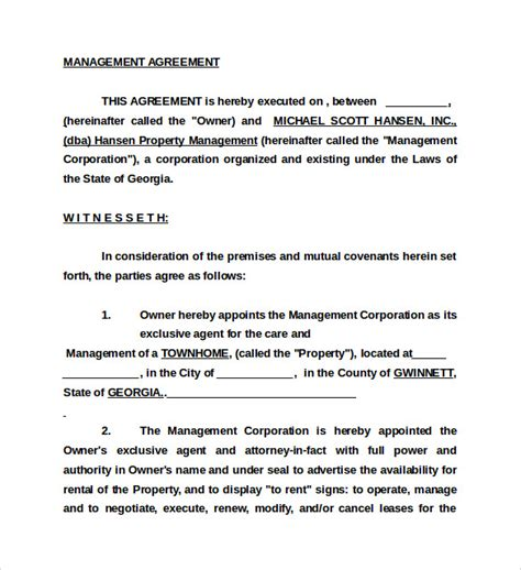business management contract template business management agreement template 28 images index of wp content uploads 2012 01