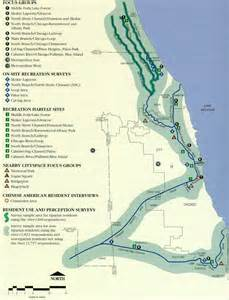 Chicago Waterways Map by Map Of Chicago River With Emphasis On Recreational Use